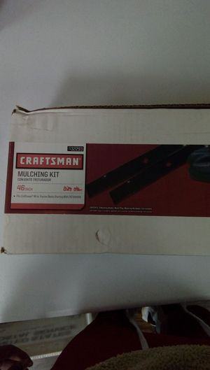 Craftsman mulching kit 46 inch for Sale in Suwanee, GA