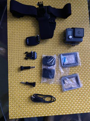 GoPro hero4 with head mount for Sale in Miami, FL