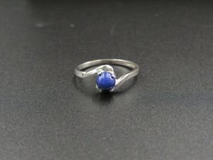 Size 6.25 10K Gold Blue Star Sapphire Band Ring Vintage Estate Wedding Engagement Anniversary Gift Idea Beautiful Elegant Unique for Sale in Lynnwood, WA