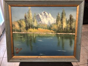 Original oil on canvas painting signed for Sale in Florida, US