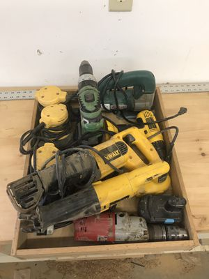 Box full of hand tools for Sale in KS, US