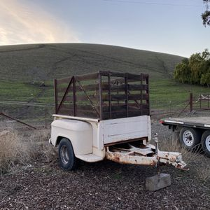 Truck-Bed Trailer w/ Hydraulic Assist Brakes for Sale in Livermore, CA