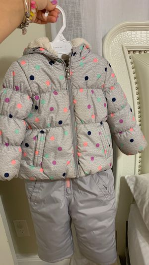 Girl 2t snow coat set for Sale in Lake Worth, FL