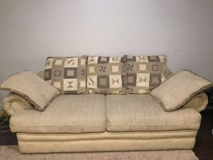 Sofa, table and mattress for Sale in Portland, OR