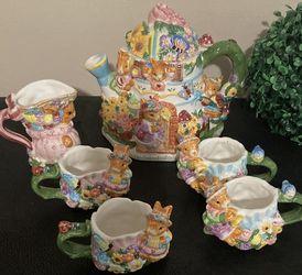 (6) PIECES MERCURIES 1999 TEA SET for Sale in Lilburn,  GA