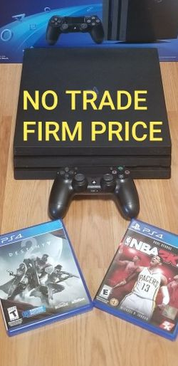 PS4 PRO2019 MODEL BUNDLE, FIRM PRICE, NO TRADE, GREAT CONDITION, READ DESCRIPTION FOR OPTIONS for Sale in Westminster,  CA