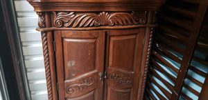 Gorgeous Wood Armoire. TV Stand. Storage. Cabinet for Sale in Montpelier, MD