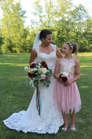 Lace Wedding dress for Sale in Chantilly, VA