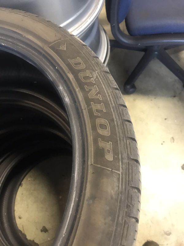 Used Tires for $80:00