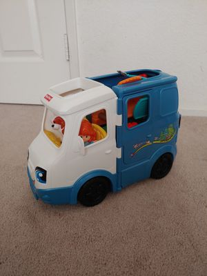Fisher Price Little People Camper Van; Barely Used; $20 for Sale in Riverside, CA