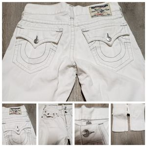 True Religion white jeans for Sale in Irving, TX
