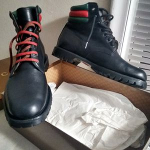 Gucci Combat Boots for Sale in Redford Charter Township, MI