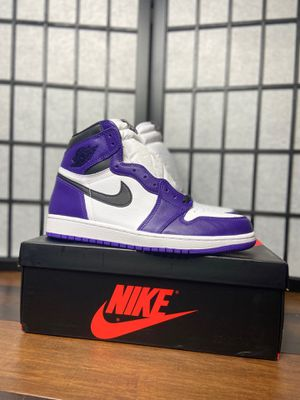 Air Jordan 1 retro high court purple for Sale in Olney, MD