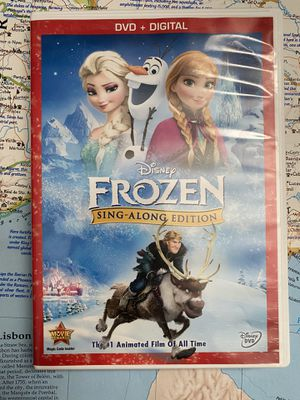 Disney Frozen Sing Along Edition DVD Movie Film for Sale in Chula Vista, CA