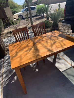 Table with 4 chairs for Sale in New River, AZ
