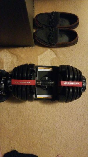 Bowflex interchangeable dumbbells for Sale in Greensburg, PA