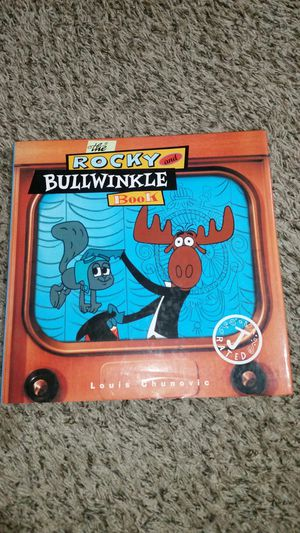 Rocky and Bullwinkle hardback book for Sale in Tacoma, WA