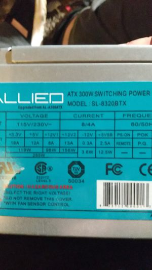Power supply for desktop computer for Sale in Morrow, OH