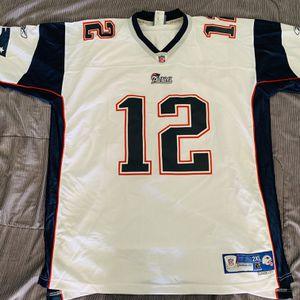 Reebok NFL Tom Brady Patriots Away Authentic Jersey sz 2XL for Sale in Huntington Beach, CA
