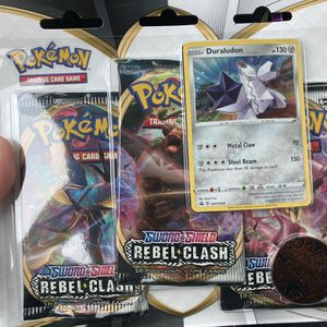 Pokémon Rebel Clash Booster Packs for Sale in Jones, OK
