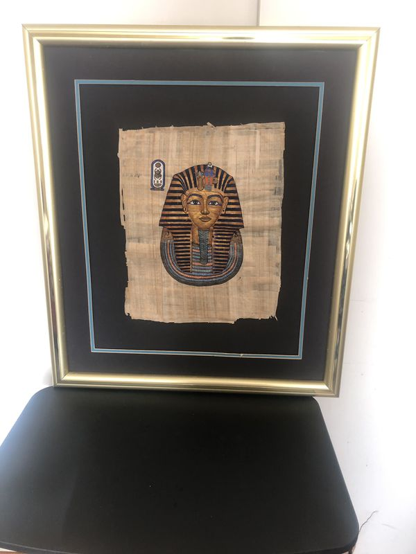 Vintage Egyptian painting,