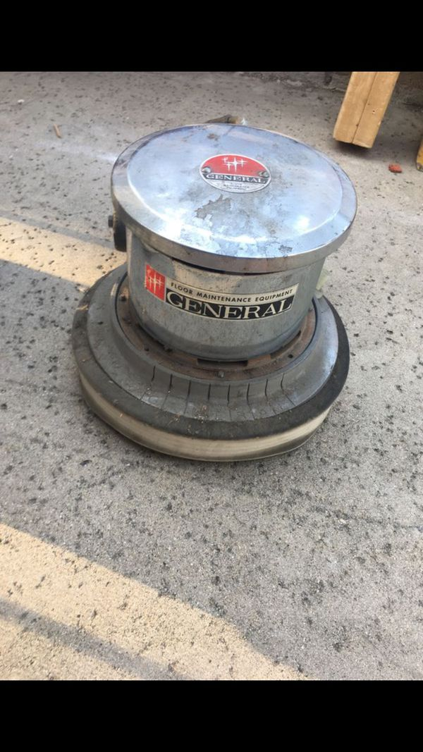 General professional floor scrubber