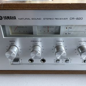 YAMAHA STEREO RECEIVER CR-820 for Sale in Englewood, NJ