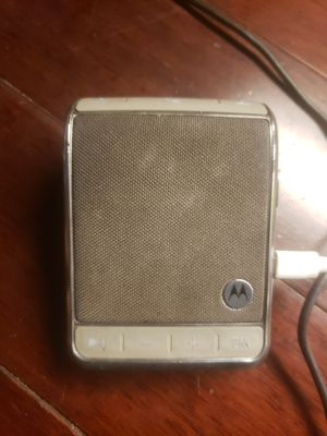 Motorola roadster 2 wireless speakerphone for Sale in Tacoma, WA