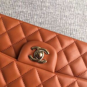 Orange Chanel Classic Handbag and Crossbody Bag for Sale in St. Louis, MO