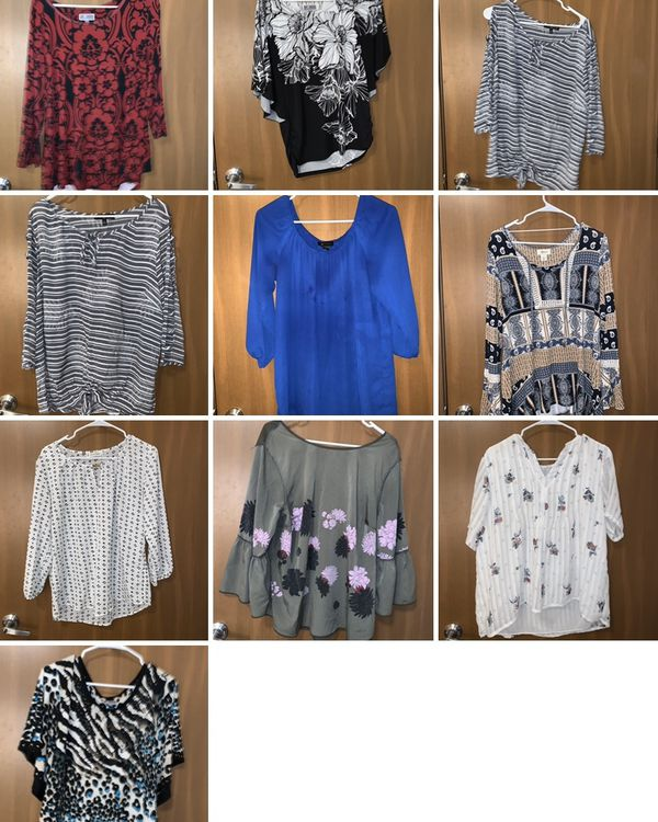Women's dress shirts and blouses