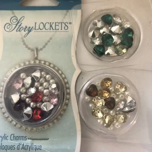 Charm lockets and charms. Brand new for Sale in Hemet, CA