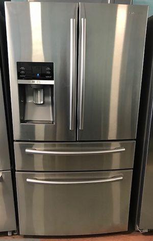 "Samsung 36"" stainless steel French door freezer fridge for Sale in Reisterstown, MD"