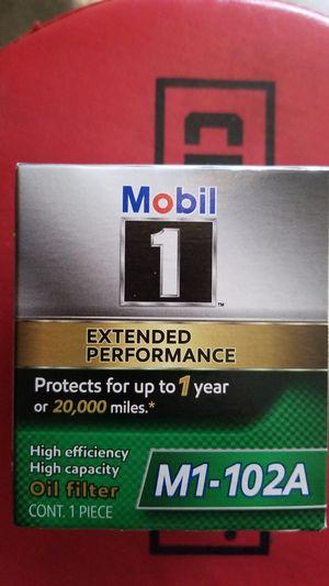 Mobile 1 oil filter (brand new). for Sale in Murrieta, CA