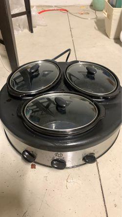 Trio Crock Pot for Sale in Lakeland,  FL