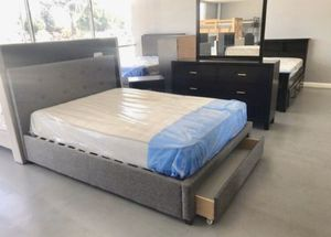 New Queen Frame and Mattress for Sale in Huntington Beach, CA