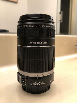 Canon 55-250mm 1:4-5.6 for Sale in Miramar, FL