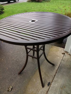 Summer classics bar height outdoor table for Sale in Tigard, OR