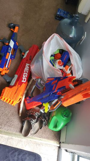 Nerf guns for sale for Sale in Whittier, CA