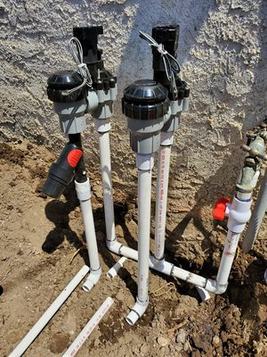 Sprinklers systm (renew your manual valves for automatic valves) for Sale in Pico Rivera, CA