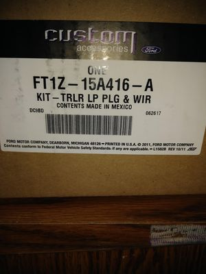 Custom Accessories Trailer Hitch Kit and Trailer LP PLG & WIR KIT for Sale in Salem, OR