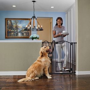 Brand New Extra-Tall Arched Hands Free Pet Gate for Sale in Los Angeles, CA