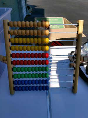 Used, Children's Abacus for Sale for sale  Columbus, OH