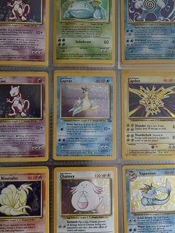 Original Pokemon Mixed Set Holos WOTC NM for Sale in Orwigsburg,  PA