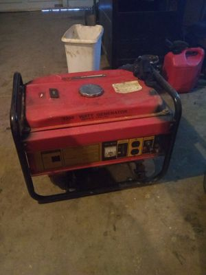 Generator works great need a toggle switch switch for Sale in Glendale, AZ
