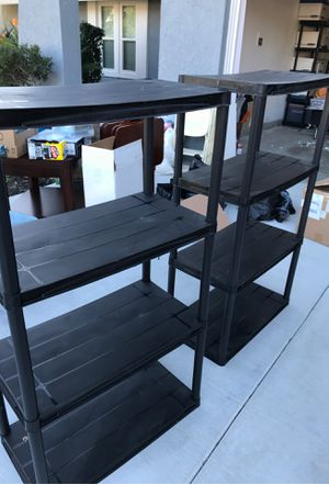 Black storage shelves for Sale in Mission Viejo, CA