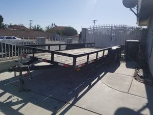 Trailer, 20ft deck for Sale in Fontana, CA