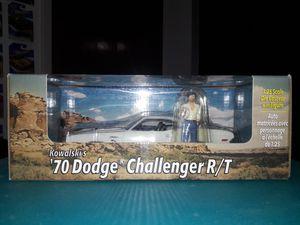 DODGE CHALLENGER Vanishing Point 1970 Challenger and Kowalski figure for Sale in San Antonio, TX