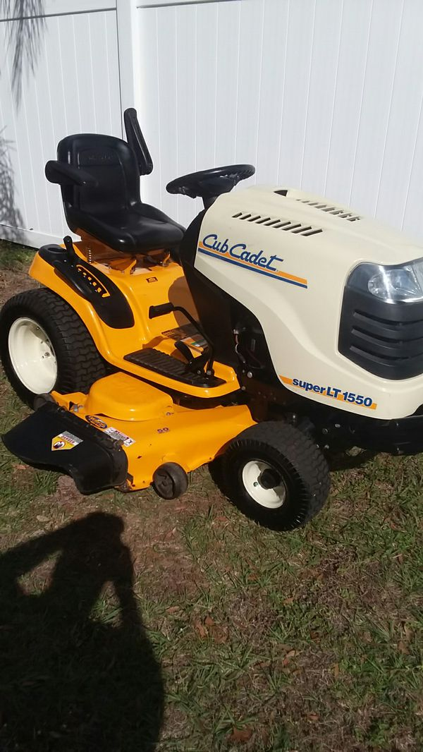 2006 Cub Cadet Slt 1550 Lawn Mower For Sale In Brandon Fl