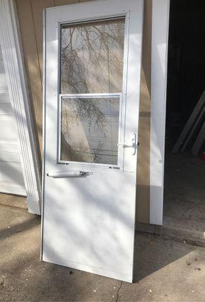 Storm door 30x77 for Sale in Bowie, MD