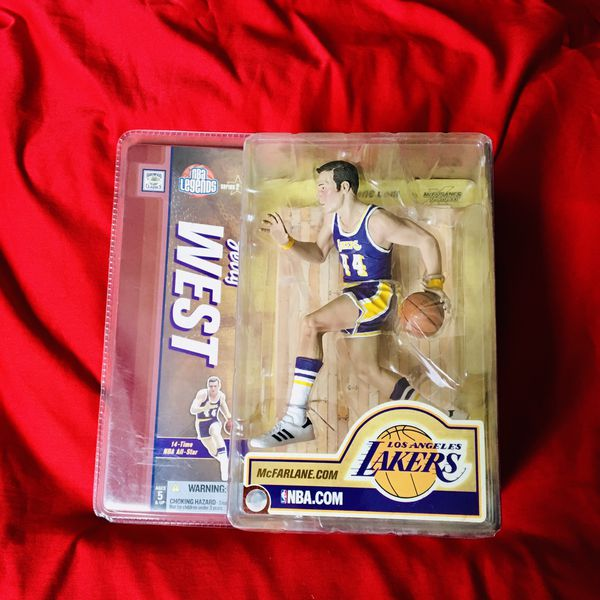 Jerry West Collectible Action Figure